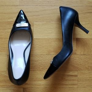 6 Coach pointed heels